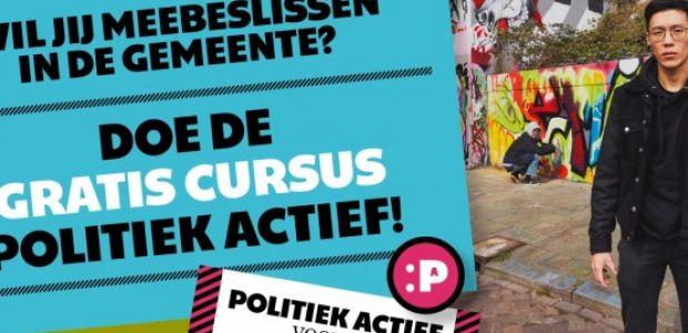 Cursus Politiek Actief: iets voor u?