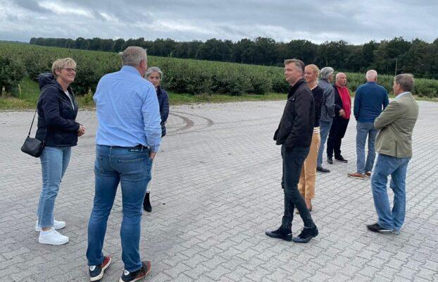 VVD bezoekt Blauwe Bes Drenthe